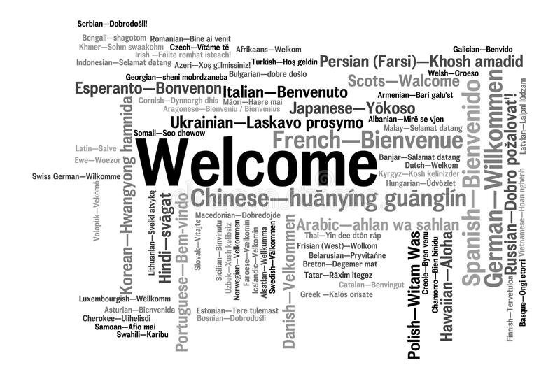 welcome-phrase-words-cloud-concept-different-languages-96724158